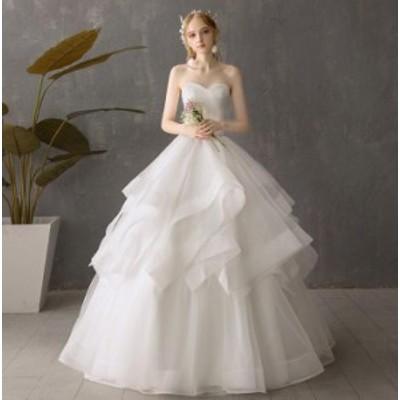 ベアトップドレス 人気 パーティドレス フォマールドレス フェミニン Seet style 同窓会 演奏会 結婚式 編み上げ