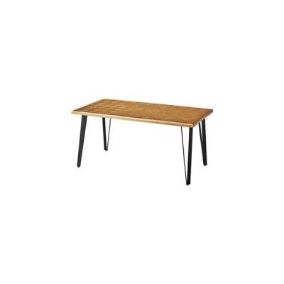 ds-2173523 モダン ダイニングテーブル 【幅150cm】 長方形 木製 アイアン ウレタン塗装 『ジョーカー』 〔リビング 店舗 飲食店〕 (ds2173523)