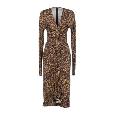 マイケル・コースコレクション MICHAEL KORS COLLECTION 7分丈ワンピース・ドレス サンド 2 レーヨン 95% / ポリウレタ