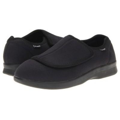 プロペット メンズ サンダル シューズ Cush 'n Foot Medicare/HCPCS Code = A5500 Diabetic Shoe Black