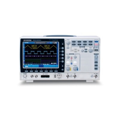 """GW Instek GDS-2102A 8"""" LCD Color Display Visual Persistence Digital Storage Oscilloscope with USB Port, 100MHz Bandwidth, 2-Channel, 3.5ns R"""