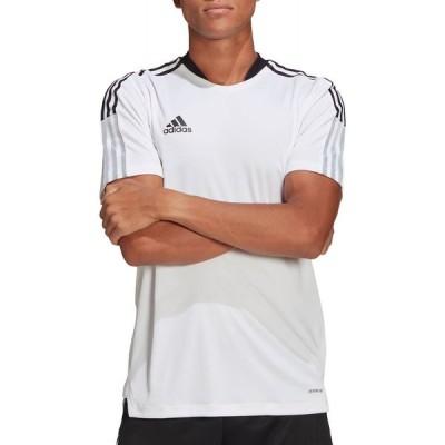 アディダス adidas メンズ サッカー ジャージ トップス Tiro 21 Training Jersey White