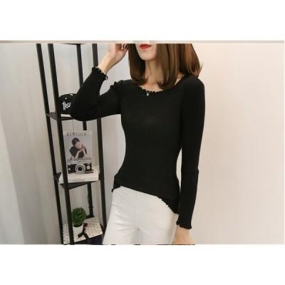 大きいサイズXL-4XL ファッション 人気セーター ホワイト ブラック2色展開