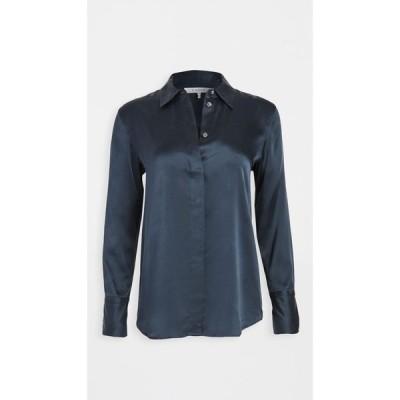 フレーム FRAME レディース ブラウス・シャツ トップス Perfect Shirt Navy