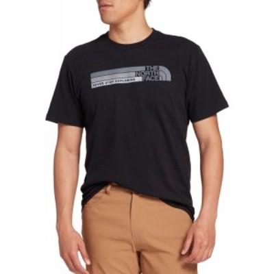 ザ ノースフェイス The North Face メンズ Tシャツ トップス Front Tonal Bars Graphic T-Shirt TNF Black