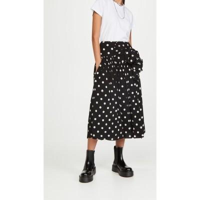 マーク ジェイコブス The Marc Jacobs レディース スカート The 80's Skirt Black/Ivory