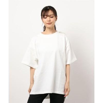 tシャツ Tシャツ ビッグシルエットオーガニックコットンTシャツ(1S15-350046)