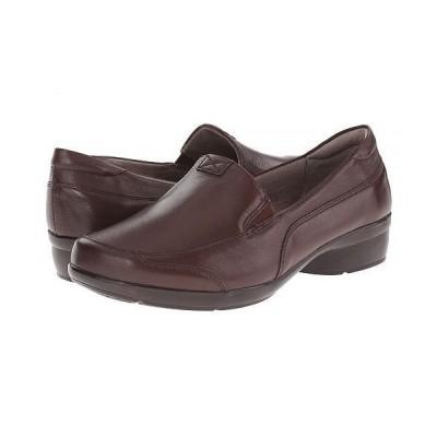 Naturalizer ナチュラライザー レディース 女性用 シューズ 靴 ローファー ボートシューズ Channing - Bridal Brown Leather