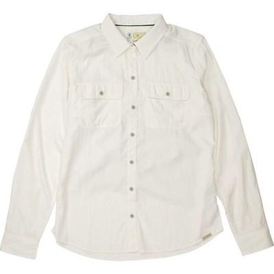 エクスオフィシオ シャツ レディース トップス ExOfficio Women's BugsAway Breccia LS Shirt White