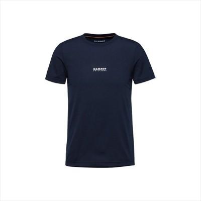 (代引不可)マムート(MAMMUT) 1017-02011-50364 QD Logo Print T-Shirt AF Men 1017-02011 marine PRT1 HIKING(ハイキング)