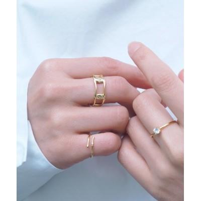 指輪 silver925 チェーンデザインリング FREE