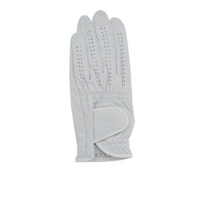キャスコ(KASCO)【左手用皮革】ゴルフグローブ シルキーフィット キャディット GF-17252 WT
