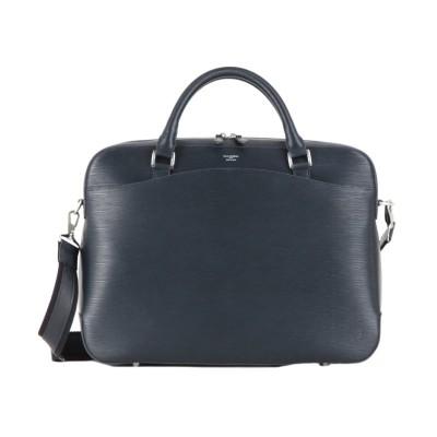【カバンのセレクション】 ペッレモルビダ キャピターノ ブリーケース ビジネスバッグ メンズ 本革 A4 PELLE MORBIDA CA201 ユニセックス ネイビー 在庫 Bag&Luggage SELECTION