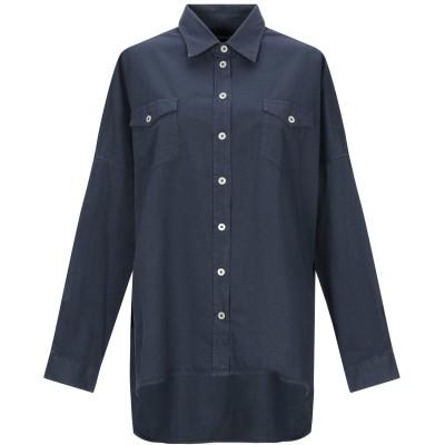 マッシモ・アルバ MASSIMO ALBA シャツ ダークブルー S コットン 100% シャツ