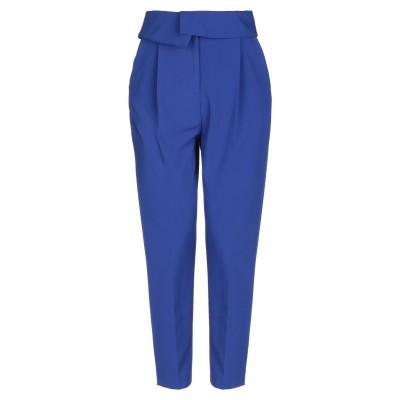 RAME パンツ ブルー 40 ポリエステル 68% / レーヨン 28% / ポリウレタン 4% / アセテート パンツ
