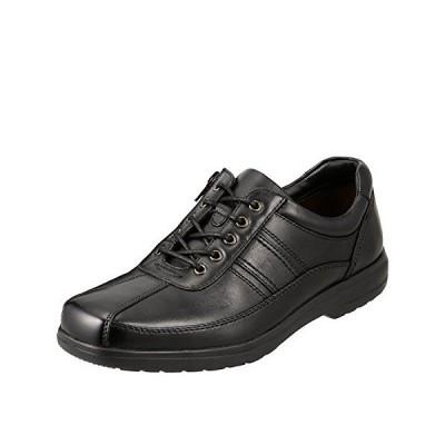 [マドラス] フレッシュゴルフ FRESH GOLF ウォーキングシューズ メンズ FG734 幅広 4E 本革 紳士靴 ブラック 25.5 cm 4E