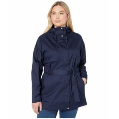 コロンビア レディース コート アウター Plus Size Pardon My Trench¢ Rain Jacket Dark Nocturnal