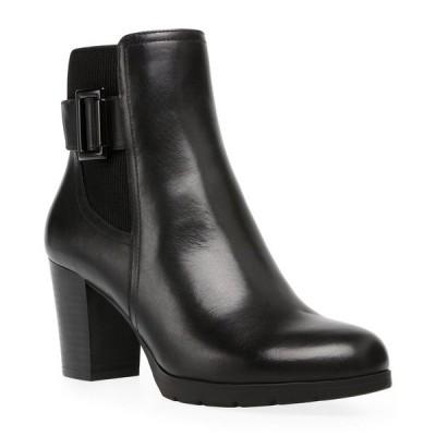 アンクライン ブーツ&レインブーツ シューズ レディース Raylin Booties Black Leather