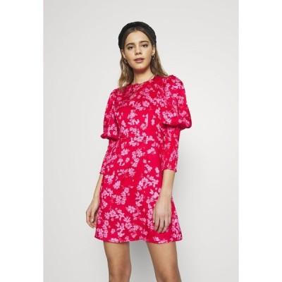 ネバーフリードレスド ワンピース レディース トップス MINI DELORES DRESS - Day dress - pink
