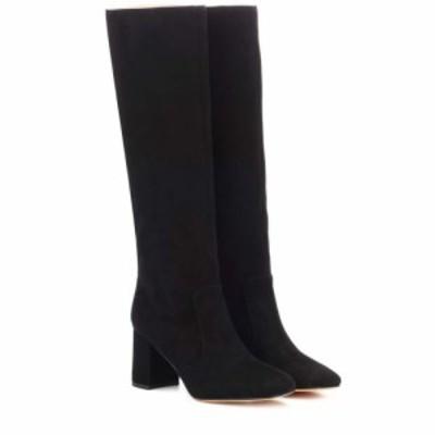 マリアム ナッシアー ザデー Maryam Nassir Zadeh レディース ブーツ シューズ・靴 Lune suede boots Black