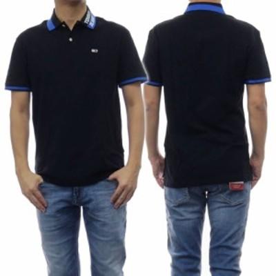 【セール 40%OFF!】TOMMY JEANS トミージーンズ メンズポロシャツ DM0DM07451 ブラック