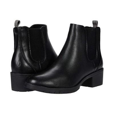 ハッシュパピー Hadley Chelsea レディース ブーツ Black Leather
