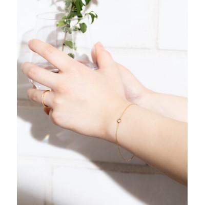 ブレスレット 【ESTELLE/エステール】【WEB限定】K18 イエローゴールド ダイヤモンド ブレスレット