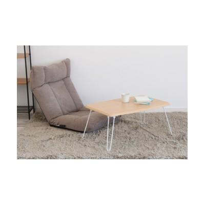 スチール脚の折りたたみテーブル ローテーブル・リビングテーブル, Tables(ニッセン、nissen)