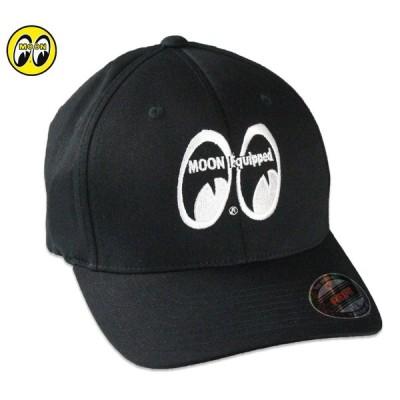 ムーンアイズ キャップ 帽子 メンズ レディース おしゃれ かっこいい アメカジ アメリカン 車 バイク フレックスフィット MOONEYES MOON Equipped Flexfit Cap