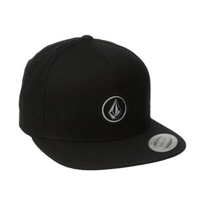 [ボルコム] キャップ (サイズ調整可能)[ D5511561 / Quarter Snap Back Hat ] 帽子 おしゃれ BLK_ブラック
