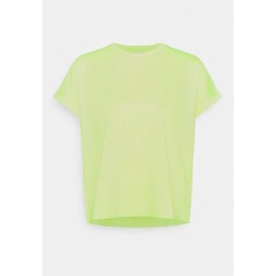 エフ ティ シー カシミア Tシャツ レディース トップス Basic T-shirt - limelight