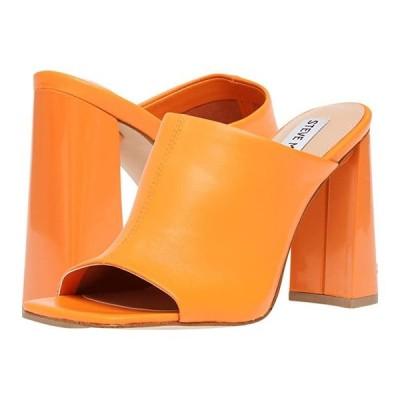 スティーブマッデン Tule Heeled Sandal レディース ヒール パンプス Orange Leather