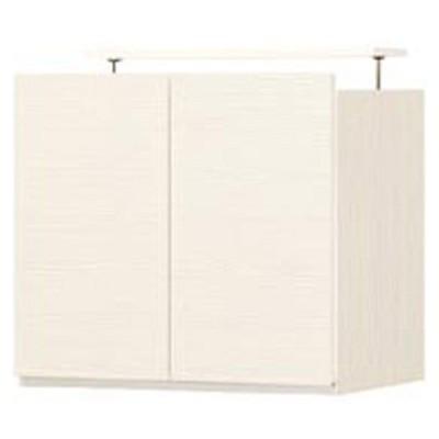 白井産業 ポルターレ 壁面収納キャビネット専用上置き棚 幅600mm ホワイト(直送品)