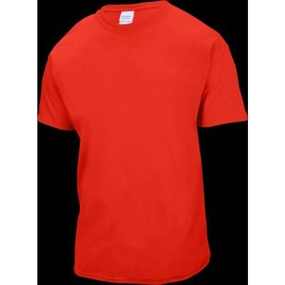 サンマール Sanmar メンズ Tシャツ トップス Team Ultra Cotton 6oz. T-Shirt Red