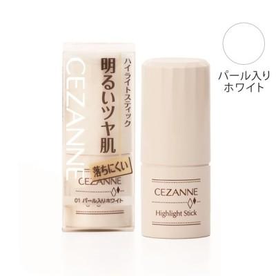 セザンヌ化粧品 セザンヌ ハイライトスティック パール入りホワイト 01