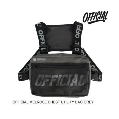 OFFICIAL オフィシャル MELROSE CHEST UTILITY BAG GREY ショルダーバッグ
