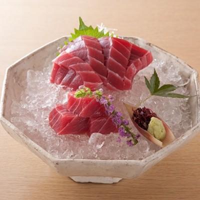 [神奈川・三崎恵水産]天然本まぐろ中トロ・赤身詰合せ 海産物
