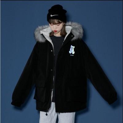 暖かい アウター 学生 希少 通学 上質コート 韓国風 レディース ショート丈コート 中綿ジャケット 上着 カジュアル 防寒 防風 OL 通勤