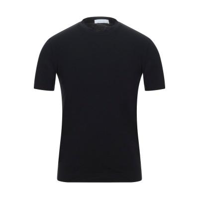 クルチアーニ CRUCIANI T シャツ ブラック 54 コットン 93% / ポリウレタン 7% T シャツ