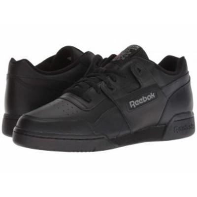 Reebok Lifestyle リーボック メンズ 男性用 シューズ 靴 スニーカー 運動靴 Workout Plus Black/Charcoal【送料無料】