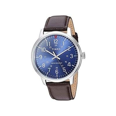 アメリカ直輸入品Timex タイメックス クラシック Timex ブルー メンズ アナログ カジュアル クォーツ 海外出荷 TW2R85400送料込み!