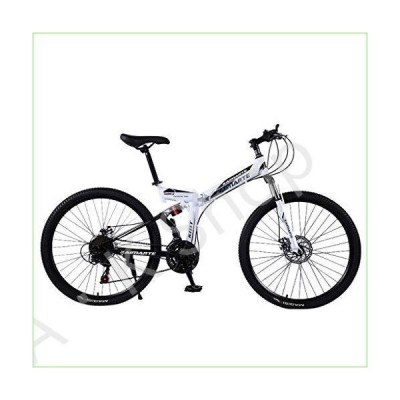 [Fast Shipment] Hmazy Outroad Mountain Bike, Mountain Bike 24 Inch Lightweight Mini Folding Bike Small Portable Bicycle for Adults and Students Collap