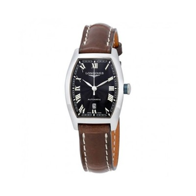 Longines/ロンジン レディース 腕時計 Evidenza Black Dial 自動巻き レディース Watch L2.142.4.51.2