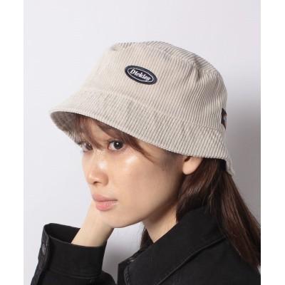 (Dickies/ディッキーズ)Corduroy Bucket HAT/ユニセックス アイボリー