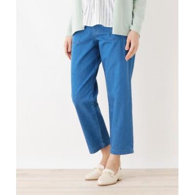 SHOO・LA・RUE / コットン100% ストレートデニムパンツ WOMEN パンツ > デニムパンツ