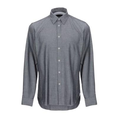 マニュエル リッツ MANUEL RITZ シャツ グレー 39 コットン 100% シャツ