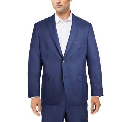 アルファニ ジャケット&ブルゾン アウター メンズ Men's Classic-Fit Stretch Solid Suit Jacket,  Blue