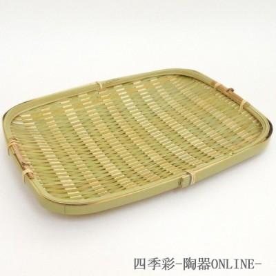 ざるそば 24cm 青竹そば器 蕎麦ざる 竹製 業務用 和食器 9b310-15