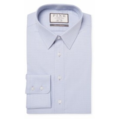 トーマスピンク Men Clothing Cai Spot Cotton Dress Shirt