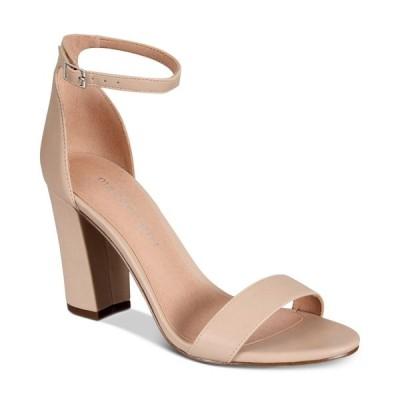 マッデン ガール Madden Girl レディース サンダル・ミュール シューズ・靴 Bella Two-Piece Block Heel Sandals Blush Smooth